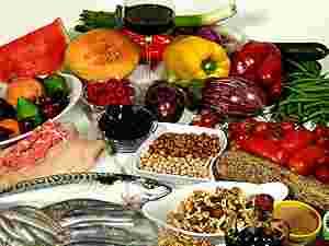 Alimenti freschi e secchi di buona qualità